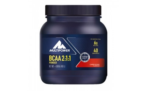 Supliment BCAA 2:1:1, pudra, Multipower, 400 g, 40 portii