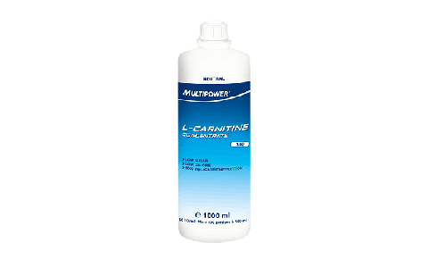 Supliment L-Carnitina Concentrat, Multipower, 1000 ml, 100 portii