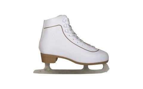 Patine de gheata, Nijdam, Pentru Femei, Figure Skate Classic, Piele, 36