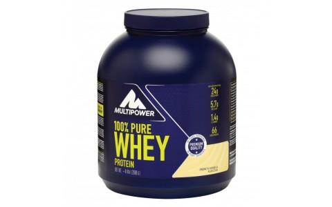 100% Whey Protein 2000 g, vanilie, Multipower