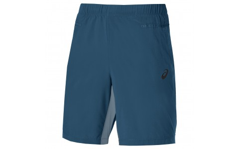 Pantaloni Scurti Training, Asics, Bleumarin, Barbati