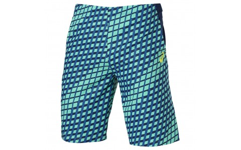 Pantaloni Scurti Tenis, Asics, Athlete 9IN, Albastru, Barbati