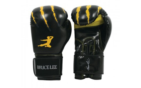 Manusi box, Bruce Lee, Signature, 16oz, Negru-Galben
