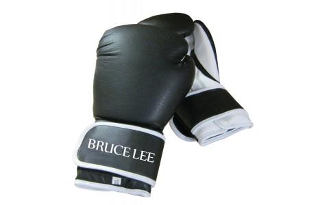 Manusi de Box, Tunturi, Bruce Lee, Allround, 16 OZ, Negru-Alb