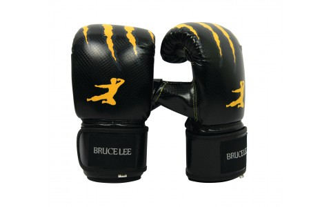 Manusi Box, Tunturi, Bruce Lee Signature, S, Negru-Galben