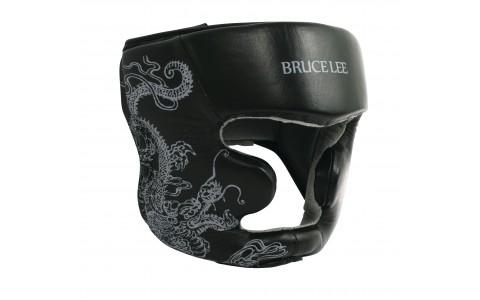 Casca protectie, Tunturi, Bruce Lee Dragon, L/XL, Negru-Rosu