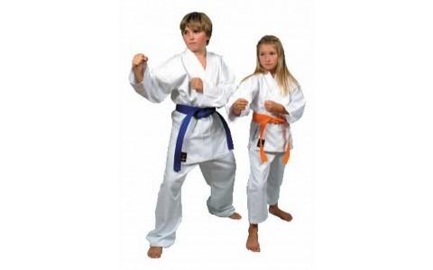 Costum Karate, Bruce Lee, Alb, 160