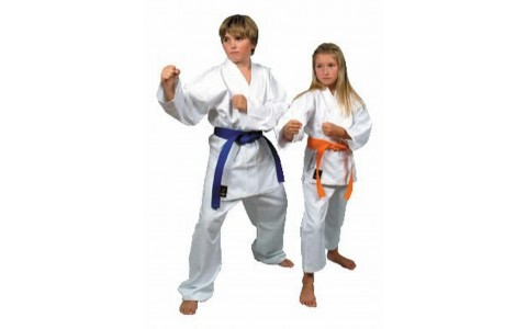 Costum Karate, Bruce Lee, Alb, 120