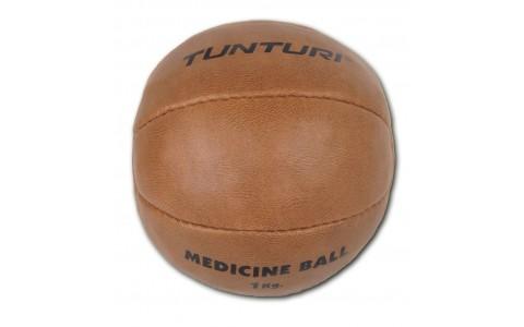 Minge medicinala, Tunturi, Medicine Ball Synthetic Leather 1kg