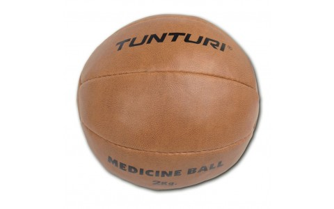 Minge medicinala, Tunturi, Medicine Ball Synthetic Leather 2kg