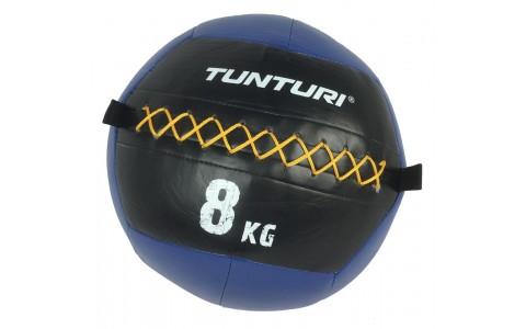 Minge de perete,crossfit,Tunturi, Wall Ball 8kg, Albastru