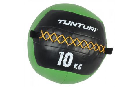 Minge de perete,crossfit,Tunturi, Wall Ball 10kg, Verde