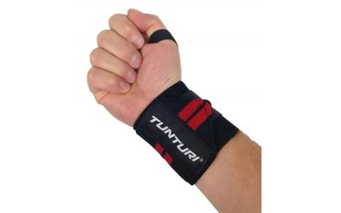 Benzi elastice pentru incheieturi, Tunturi, Wrist Wraps, Rosu