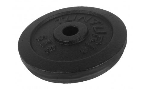 Disc Greutate, Tunturi, Negru, 5kg