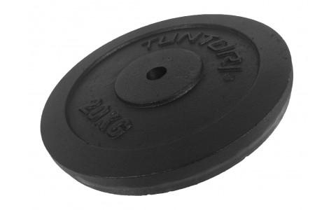 Disc Greutate, Tunturi, Negru, 20kg