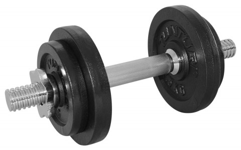 Set greutati Barbell/Dumbbel, Tunturi, 10 kg