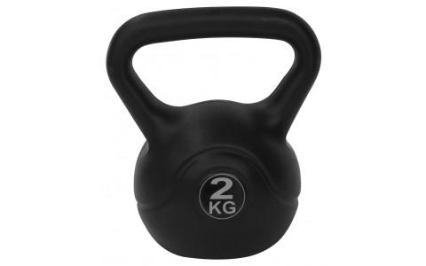 Kettlebell PE, Tunturi, 2kg