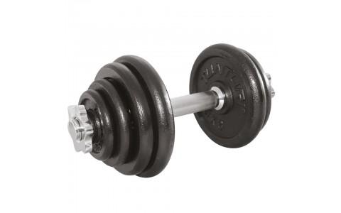 Set greutati Barbell/Dumbbel, Tunturi, 15 kg