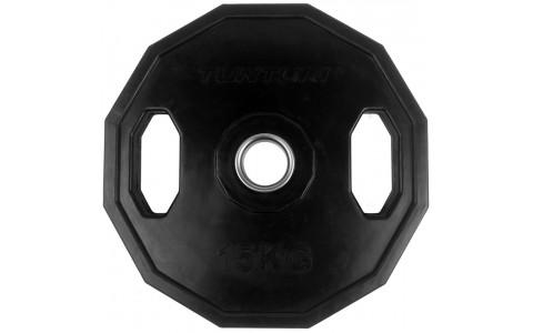 Disc Olimpic Cauciucat, Tunturi, 15 kg