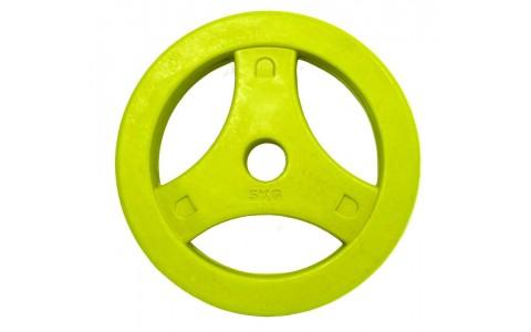 Disc Aerobic Caucicat, Tunturi, 5kg