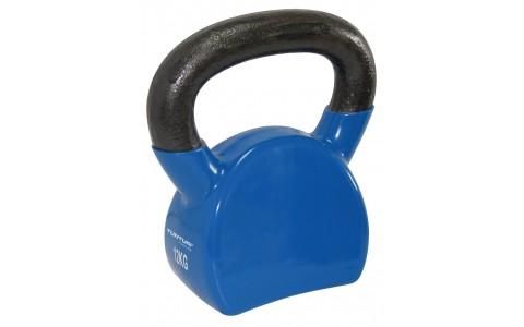 Kettlebell Vinil,Tunturi,12kg, Albastru