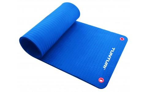 Covor Fitness, Tunturi, Fitnessmat Pro, 180 cm, Albastru
