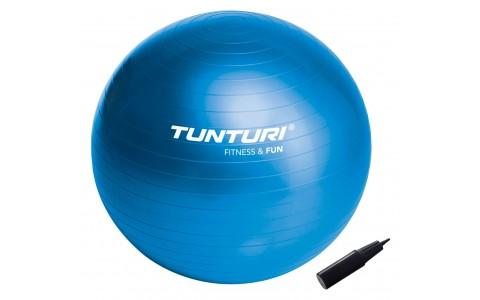 Minge Fitness, Tunturi, 75 cm, Albastru