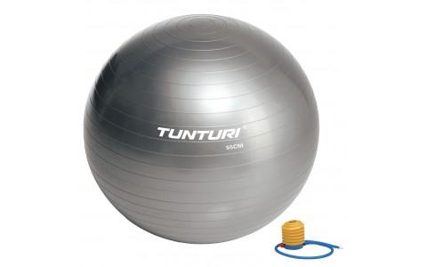 Minge Fitness, Tunturi, 55 cm, Argintiu