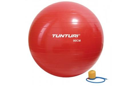 Minge fitness, Tunturi, 90cm, Rosu