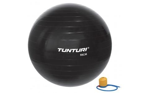 Minge Fitness, Tunturi, 55 cm, Negru