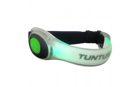 Bratara cu LED, Tunturi, Verde