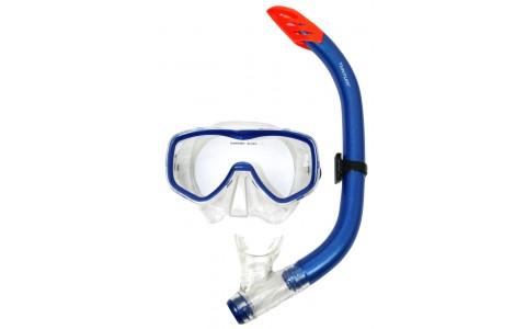 Set snorkeling, Tunturi, Senior, Albastru