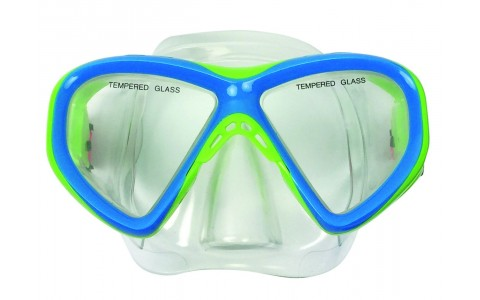 Masca scufundari, Tunturi, Junior, Albastru-Verde