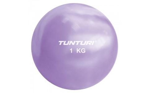 Minge yoga, Tunturi, Toningbal 1kg ,Violet