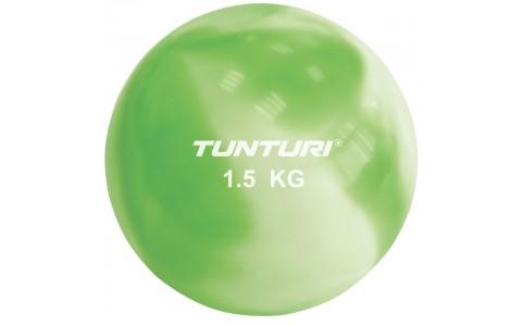 Minge yoga, Tunturi, Toningbal 1,5 kg ,Verde