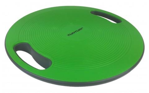 Disc pentru echilibru cu manere, Tunturi, Negru-Verde