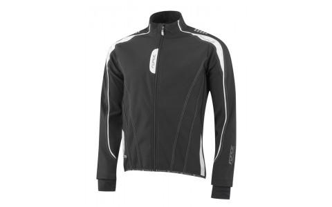 Jacheta Ciclism Barbati, Force, X72, Softshell, Negru-Alb