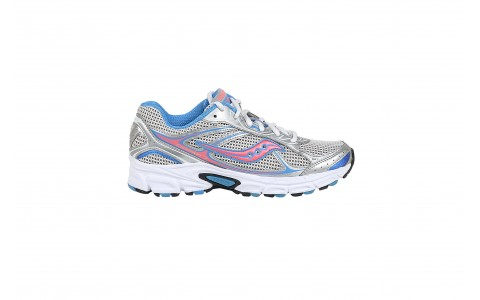 Pantofi Alergare, Saucony, Cohesion 7, Gri-Albastru, Femei