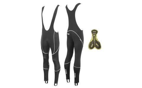 Pantaloni Lungi, Z70 cu Bretele si Bazon, Force, Negru