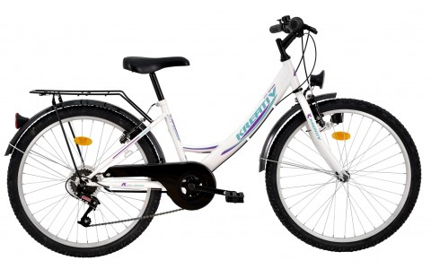 Bicicleta Copii, DHS, Kreativ 2414, Model 2017, 24 inch
