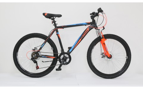Bicicleta Ultra Agressor, 26inch, 440mm, negru-portocaliu