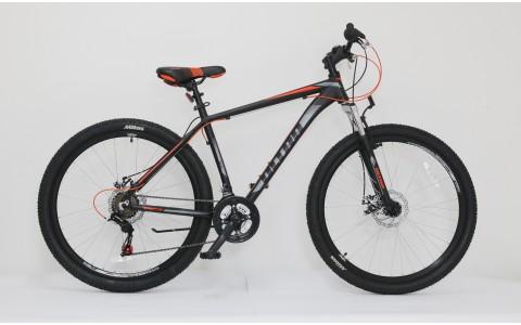 Bicicleta MTB Hardtail Ultra Nitro, 27.5inch, 440mm, negru-portocaliu