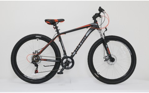Bicicleta Ultra Nitro, 27.5inch, 480mm, negru-portocaliu