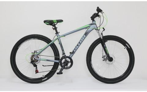 Bicicleta MTB Hardtail Ultra Nitro, 27.5inch, 480mm, gri-verde