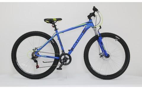 Bicicleta MTB Hardtail Ultra Nitro, 29inch, 520mm, albastru-galben-negru
