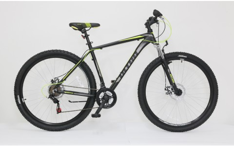 Bicicleta MTB Ultra Nitro, 29inch, 520mm, negru-galben-gri