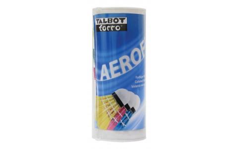 Set 3 Fluturasi Badminton, Talbot Torro, AeroFly, Multicolor