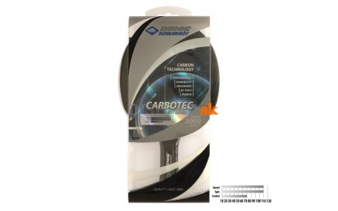 Paleta Tenis Masa, Donic Schildkrot, CarboTec 3000 Concave, Tip Joc Atac