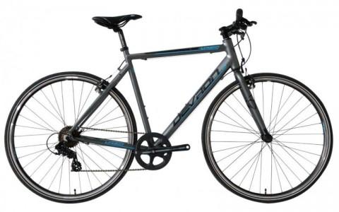 Bicicleta Oras, Devron, Urbio U1.8, Gri-Albastru, Cadru Aluminiu, Jante 28 Inch
