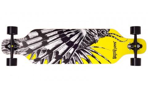 """Longboard Street Surfing, Freeride 39"""", Dragon"""